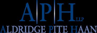 Aldridge Pite Haan Logo